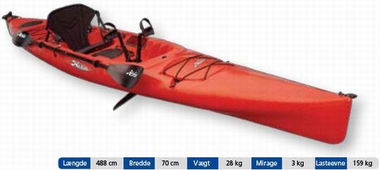 Hobie Mirage ADVENTURE(fiskekajak) - Mariagerfjordkajak.dk