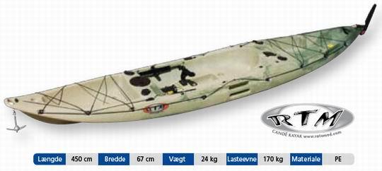 RTM KEY-LARGO(fiskekajak) - Mariagerfjordkajak.dk